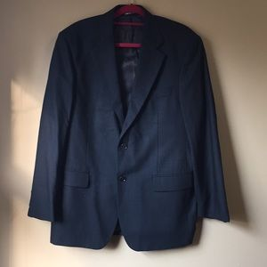 Men's Dress Jacket / Made In Italy  (40 R)